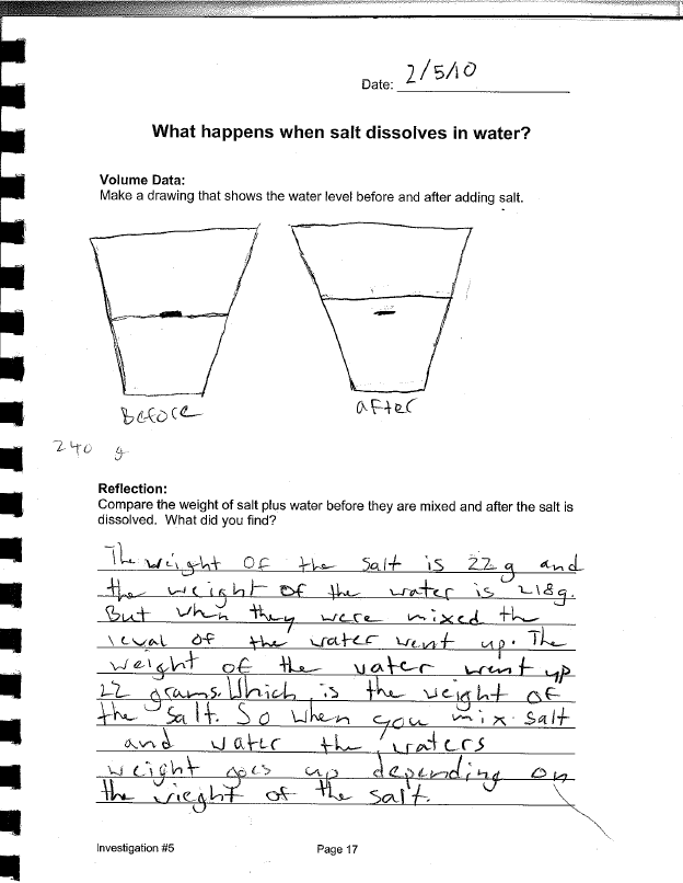 Water 5 | Grade 5 Curriculum | The Inquiry Project